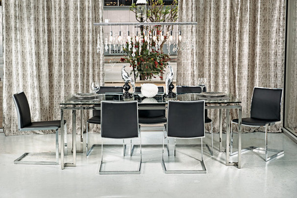 Modern Dining Room by High Fashion Home