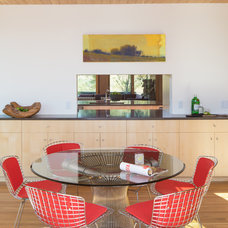 contemporary dining room by Nagle Hartray Architecture