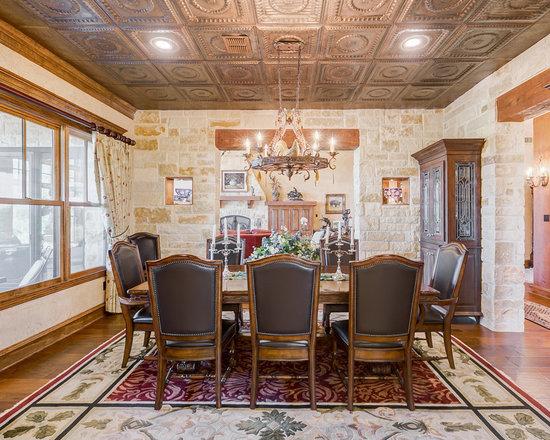 Rustic Dining Room Design Ideas Remodels Photos