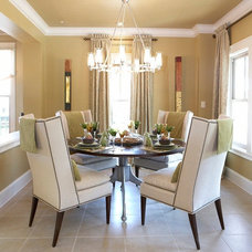 Contemporary Dining Room by Scarlett Custom Homes & Remodeling