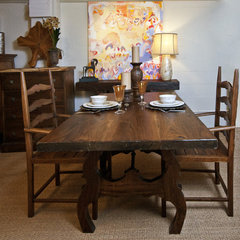 traditional dining room by Texas Tuscan Furniture Designs
