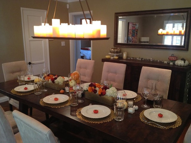 Houzzers tablescapes capture the thanksgiving spirit