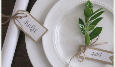 Houzzers' Tablescapes Capture the Thanksgiving Spirit