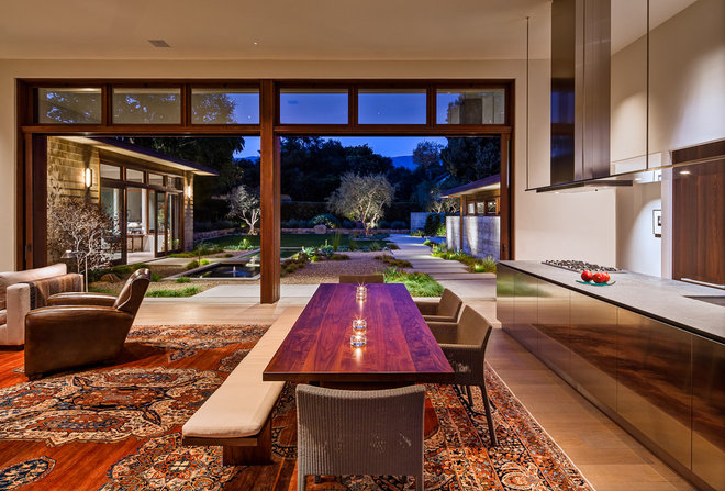 Contemporary Dining Room by Neumann Mendro Andrulaitis Architects LLP