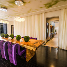 Modern Dining Room by Two Trails | Green Building Consulting