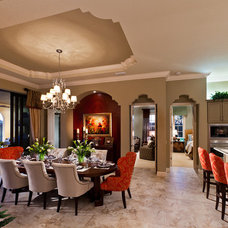 Traditional Dining Room by John Cannon Homes