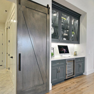 The Aurora : 2019 Clark County Parade of Homes : Dining Space Bar