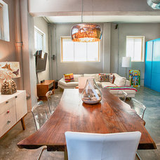 Industrial Dining Room by Noa Noa Design Solutions
