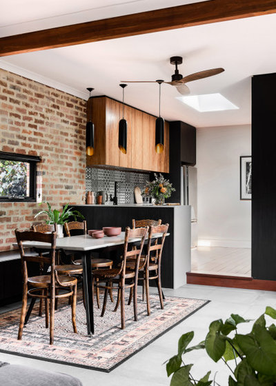 Contemporary Dining Room by Dalecki Design