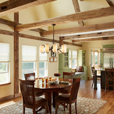 Farmhouse Dining Room by Waldenwood
