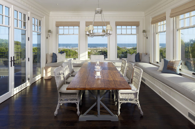 Beach Style Dining Room by The Anderson Studio of Architecture & Design