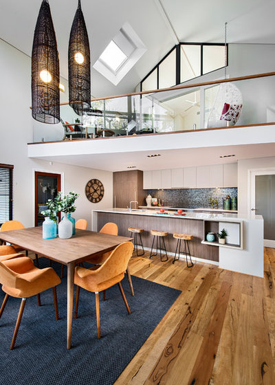 Contemporary Dining Room By Jodie Cooper Design