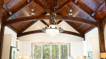 The Bell Estate Timber Frame in Chapel Hill, NC