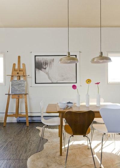 エクレクティック ダイニング by Envi Interior Design Studio