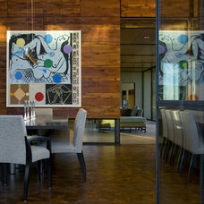Modern Dining Room by the construction zone, ltd.