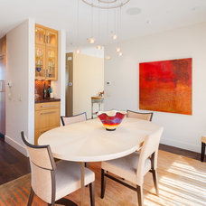 Contemporary Dining Room by Sopher Sparn Architects LLC