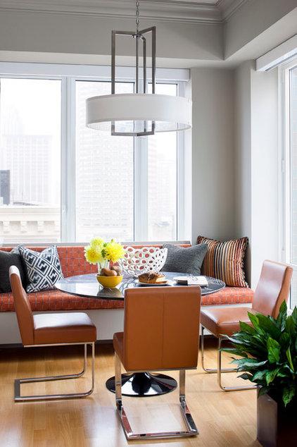 Modern Dining Room by Terrat Elms Interior Design