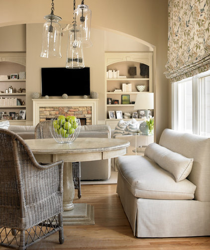 Contemporary Dining Room by The Design Atelier
