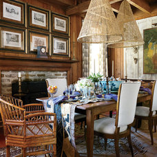 Traditional Dining Room by Southern Living