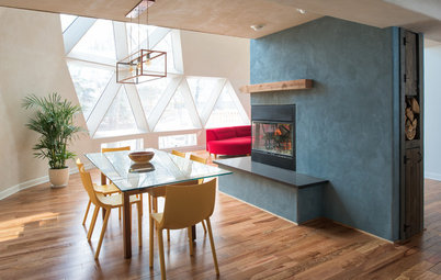 Houzz Tour: Light, Color and Playfulness Under the Dome