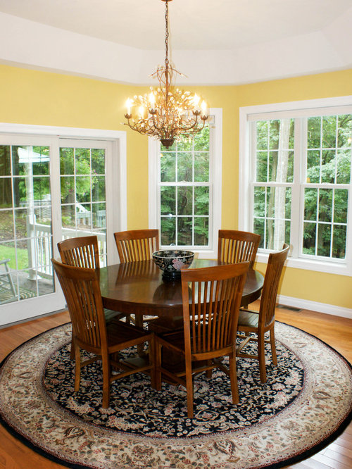 Eclectic dining room design ideas renovations photos for Medium dining room ideas