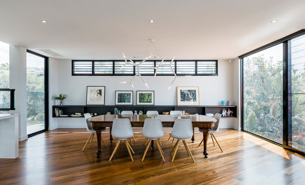 Modern Dining Room by Ned Architecture & Design