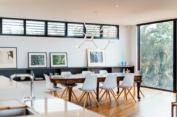 Contemporary Dining Room by Ned Architecture & Design