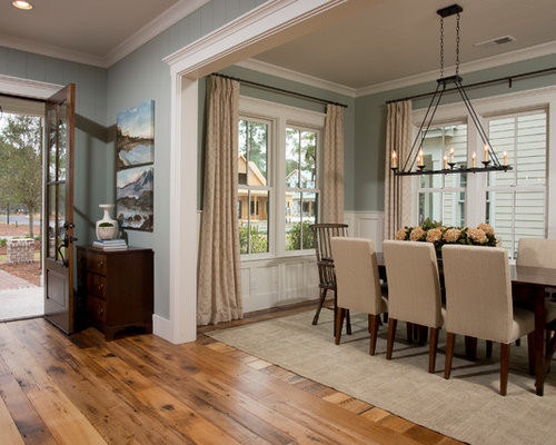 Inspiration For A Mid Sized Timeless Medium Tone Wood Floor And Brown Great Room