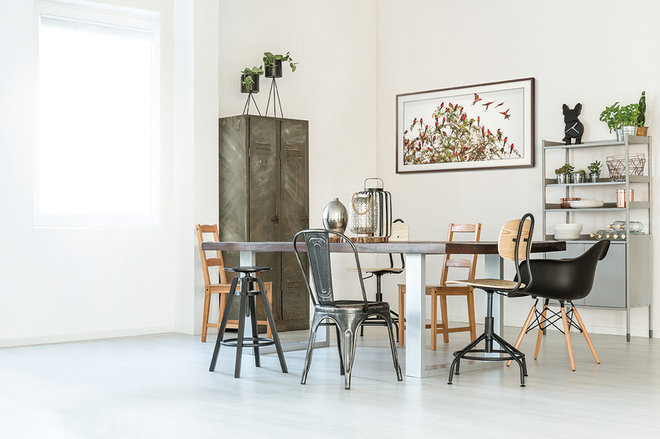 Industrial Dining Room by Samsung Australia