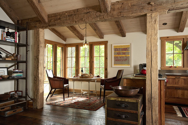 Rustic Dining Room by Murphy & Co. Design