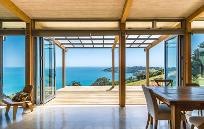 We Can Dream: Maori-Inspired Island Home With Views of Land and Sea