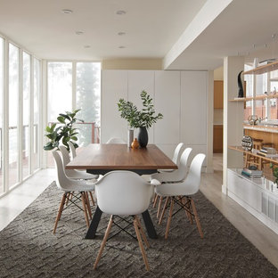 The Glass House: Modern Living & Dining Room Design