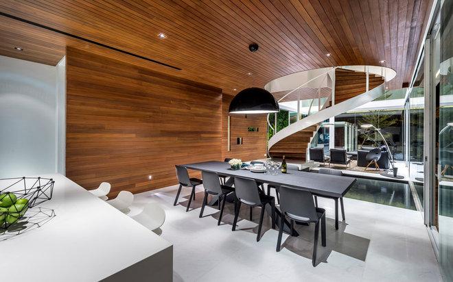 Contemporary Dining Room by Park + Associates