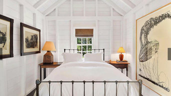 Woven Wood Shade / Guest House / The Hamptons - NY