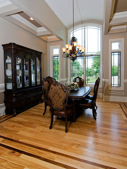 Traditional Dining Room by Donald A. Gardner Architects