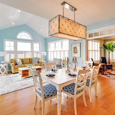 Beach Style Dining Room by Schell Brothers