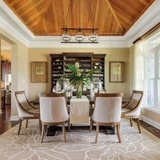 Traditional Dining Room by Schell Brothers