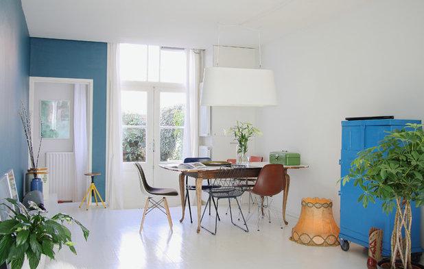 9 idee per accostare sedie diverse contro tavoli da - Quadri per sala da pranzo ...