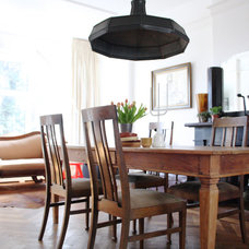Eclectic Dining Room by Holly Marder