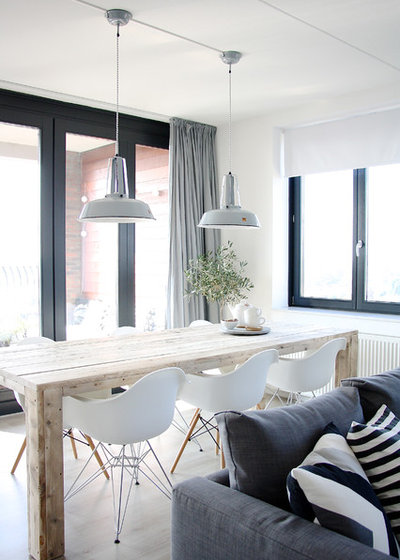 Scandinavian Dining Room by Holly Marder