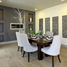 Contemporary Dining Room by Boise Hunter Homes