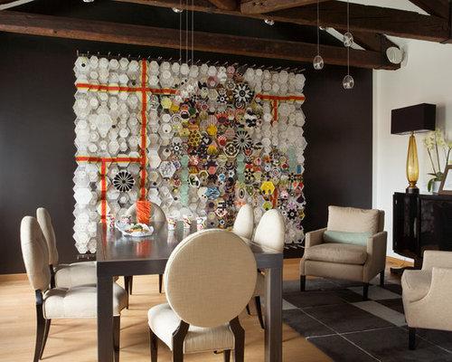 Foto e idee per sale da pranzo sala da pranzo contemporanea - Sale da pranzo contemporanee ...