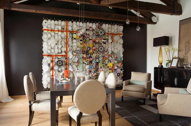 Contemporaneo Sala da Pranzo by Claudia Pelizzari Interior Design