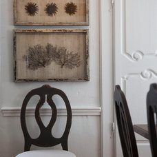 Traditional Dining Room by Rollande Vachon owner of Moutarde Décor