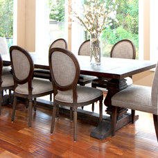 Traditional Dining Room by Bria Hammel Interiors