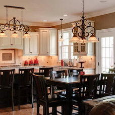 Traditional Dining Room by The Stratford Companies