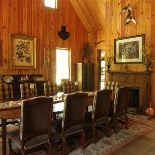 Idee per una sala da pranzo rustica