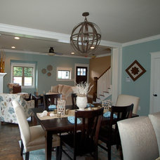 Craftsman Dining Room by McCoy Homes, Inc.