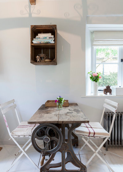 Shabby-chic Style Dining Room by Chris Snook
