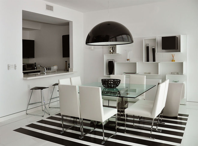 Modern Dining Room by Jonathon B. Myers, Inc.